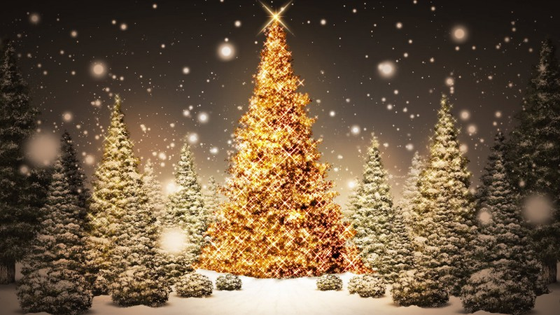 Glowing-Christmas-Tree