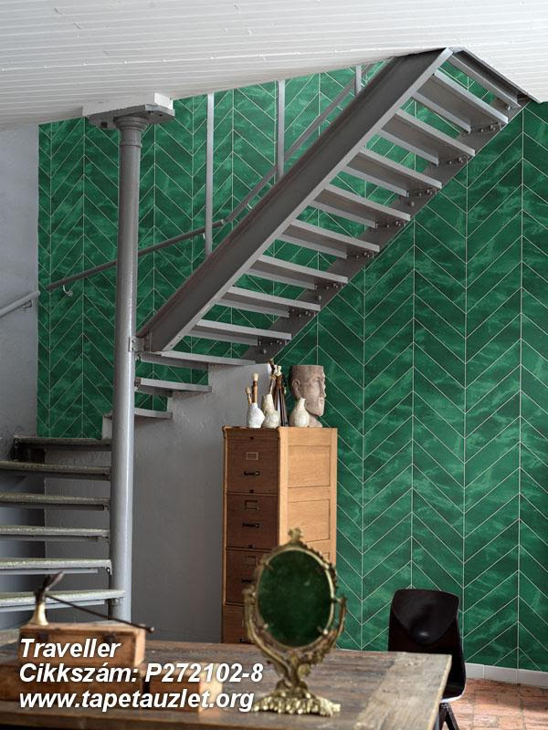 lépcsőház tapéta